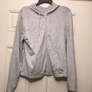 Reebok cotton zip hoodie jacket